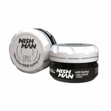 Nishman F1 Fiber Etkili Saç Şekillendirici Krem Pomad 100 ML