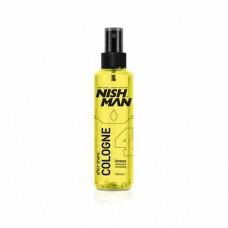 NISHMAN KOLONYA LİMON N.4 - 150 ml. Klasik Limon Kokusu