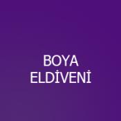 BOYA ELDİVENİ